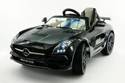 2017 Mercedes Sls Kids Ride On Toy Car,mp3,mp4,usb,leather, Led, Remote Control