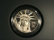 2017 W American Eagle 20th Anniversary Platinum Proof Coin One Ounce 1 Oz 17ej