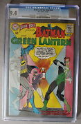 Brave And The Bold 59 1st Batman Team-up And Begins 1965 Green Lantern Cgc Nm 9.4