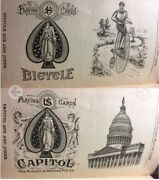 Historic C1888 Russell And Morgan Uspcc Historic Antique Playing Cards Booklet