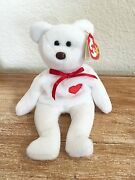 Rare Mint Valentino Ty Beanie Baby 1st Gen W/collectible Tag Errors