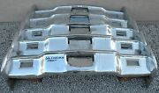 X Lincoln Continental New Triple Plated Chrome Front Bumper 1966-1967 66-67 Oem