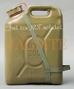 Easy-pour Duel-handle Fuel Olivedrab Strap-fits Scepter Military Fuel Gas Can