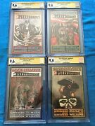 Havok And Wolverine Meltdown 1-4 Set - Cgc Ss 9.6 - Signed By W And L By Simonson