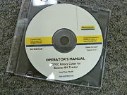 New Holland 737gc Rotary Cutter On 8n Tractor Owner Operator Maintenance Manual