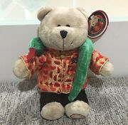 Starbucks Bearista Bear New Year Snake Asia Exclusive Brand New With Tag Rare
