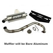 Sparks Racing X-6 Stainless Steel Exhaust System 10-17 Polaris Rzr 170 Aluminum