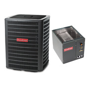 3 Ton 14 Seer Goodman Air Conditioning Condenser And Coil Gsx160371 - Capf4860c6