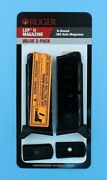 Ruger Lcp 2 Ii 380 Acp Pistol 6 Round Magazine Value 2-pack 90644 .380 Clip Mag