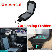Portable Car Seat Cooler Cushion Cover Summer Cooling Seat Chair Covers Pad 12v