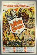 The Mighty Crusaders -francisco Rabal- Original American One Sheet Movie Poster