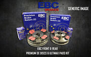 New Ebc Front And Rear Brake Discs And Pads Kit Oe Quality Replace - Pd40k1970