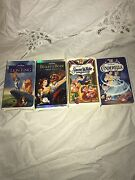 Walt Disney Vhs Limited And Special Edition Tapes Of Original Classics By Disney