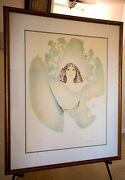 Christine Rosamond Dawn 1976 Signed Litho Gallery Framed Perfect Condition
