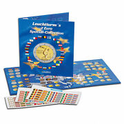 Presso 2 Euro Coin Collection Album Currency Collection Book Leuchtturm 302574