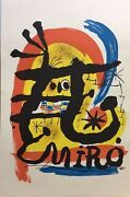 Miro Joan-man In The Moon-abstract-art For Sale