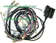 62 Corvette Dash And Forward Front End Headlamp Light Wiring Harness 327 Chevy