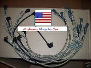 3-q-68 Date Coded Spark Plug Wires 69 Chevy Corvette 427 And Radio