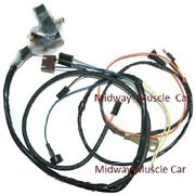 Engine Wiring Harness W/ Gauges 69 Chevy Camaro Ss 427 350 396 Rs/ss Copo Z/28