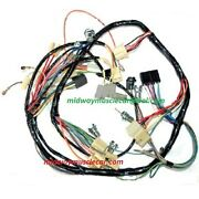 Dash Wiring Harness 57 Chevy 150 210 Bel Air Nomad Deluxe With Radio And Heater