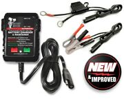 Battery Butler 12 Volt Automatic Storage Charger Tender W/warranty Free Shipping