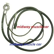 69 Spring Ring Positive Battery Cable V8 Chevy Chevelle 396 427 Malibu El Camino