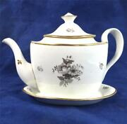 C1800 Oval Shape Teapot Thos Wolfe Factory Z Or And039mystery Prowand039 Group