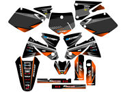 Fits Ktm 2001 With Old Style Plastics Sx 125 250 380 400 520 Graphics Decals