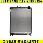 Radiator For Hino Fits 238 258lp 268 With Side Plates And Mounting Bracket 530013
