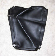 1970s Vintage Puch 125/175 Leather Isdt Side Panel Cover, Original/good E515