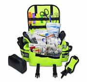 Trauma Bag First Aid Kit First Responder Complete Stocked Emt Ems Paramedic Full
