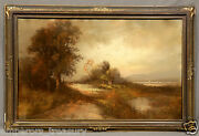 19th Century William Henry Chandler Pastel Painting American, 1854-1928