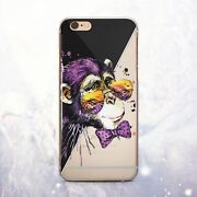 Cute Monkey Animal Silicone Iphone 11 Xr Case Cover Iphone 12 6 7 8 Plus X Xs Se