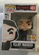 Sdcc 2017 Funko Exclusive Mr. Robot Elliot Masked Limited Edition Sold Fast