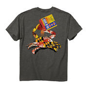 Old Bay Open Can Menand039s Md Crab T-shirt - Maryland My Maryland - New