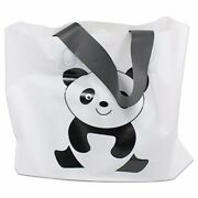White Plastic Shopping Bag With Handle For Wedding Gift Party Carrier Bags Pouch
