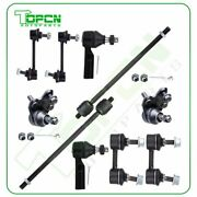 Fits Toyota Celica Gt 1994-1999 10pcs Front Tie Rod Ends Ball Joints Sway Bars