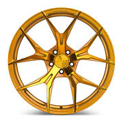 20andrdquo Rohana Rfx5 Gloss Gold Concave Wheels For Bmw F12 M6 Gran Coupe 20x9 20x11