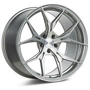 """22"""" Rohana Rfx5 Brushed Titanium Concave Wheels For Bmw F12 640 650 Gran Coupe"""