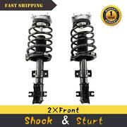 2pcs Front Quick Struts Shocks And Spring Complete Assembly For Volvo S60 S80 V70