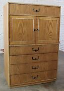 On Sale Vintage Campaign Style Gentlemenandrsquos Chest By Founders Furniture In Oak