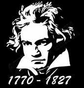 Beethoven Tribute T-shirt Mens Ladies Available Classical Music Various Colours
