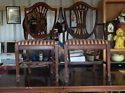 Duncan Phyfe Dining Room Table W/ 8 Chairs
