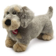 Stuffed Toys Trudi Dachshund Rough Haired Andrew 35 Cm Top Quality Made In Italy