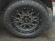 20 Vision 412 Rocker Fuel At 305/55r20 Wheel And Tire Package Chevy Gmc 8x180