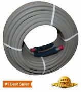 100 Ft 3/8 Pressure Washer Hose Gray Non-marking 4000psi 275 Degrees