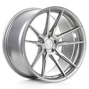 20andrdquo Rohana Rfx2 Brushed Titanium Concave Wheels For G35 Genesis Coupe 350z 370z