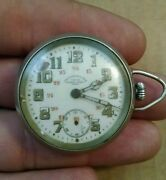 Very Rare Ww1 Chf Tissot And Fils Army Signal Corps Locle Pocket Watch