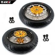 Kke 3.517and039and039/4.2517and039and039 For Suzuki Drz400sm Supermoto Wheels Rims Cst Tires 2020