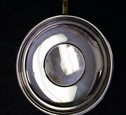 Sterling Silver 10.5 Round Rolled Edge Tray Lord Saybrook International 315g